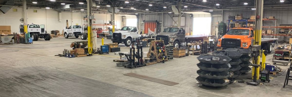 Manning Truck Equipment Service Garage
